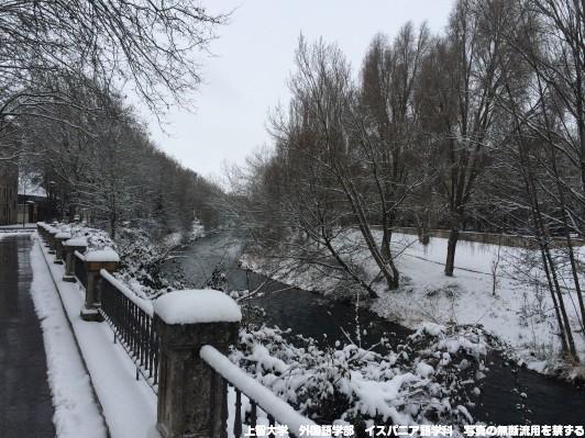 冬のブルゴス