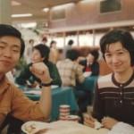 学食にて(1979年)