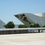 ブラジルの首都ブラジリアにある「自由のパンテオン」。