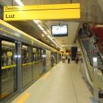 サンパウロ市内の地下鉄駅(ブラジル)