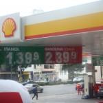 ガソリンスタンド(ブラジル)。