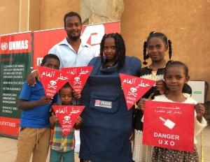 スーダンの首都ハルツームでは毎年「国連デー」のイベントを開催し、多くの地元の方に国連の活動ついて知って頂く機会となっています。