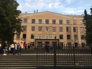 ペトロザヴォーツク国立大学の建物