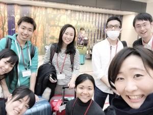 上智大学からの大学院生達