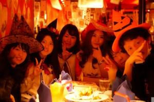 国際親善グルプAMITYのハロウィーンパーティ