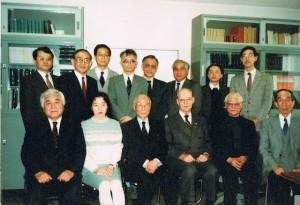 1989年の史学科教職員