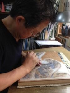 彫師 朝香元晴先生