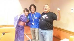 DJ日本史で松村さん堀口さんと