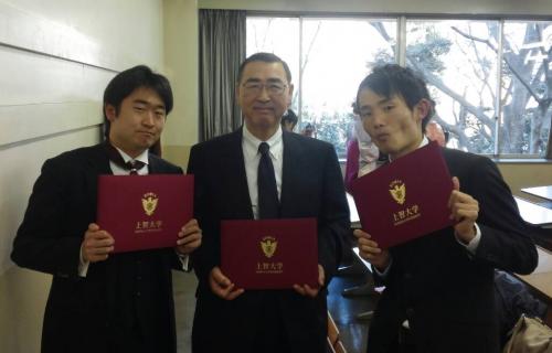 2015年3月卒業式