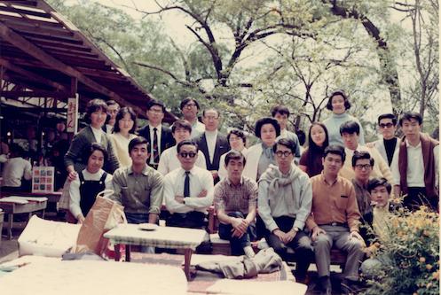 1970年大学4年生鎌倉ハイキング
