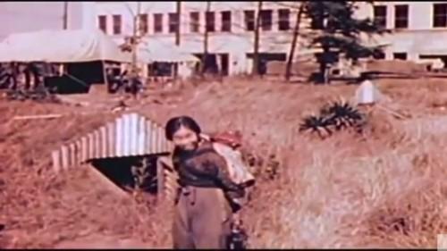 [参考]1945年10末 焼け野原の防空壕:動画