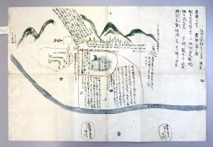 新発見の「信州上田初之真田陣絵図」