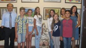 Art Contests for Children and Prof. Murata