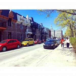 街並みモントリオールの