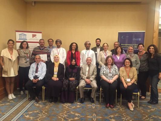 2015年11月、ベイルートにてアラブ地域での社会科学振興支援アプローチに関するワークショップ