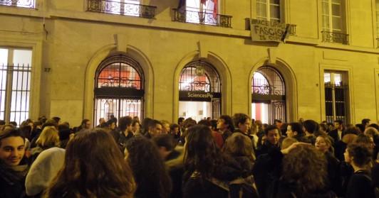 パリ政治学院メインキャンパスの外観写真