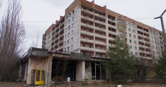 ウクライナ西部のゴーストタウン、プリピャチ