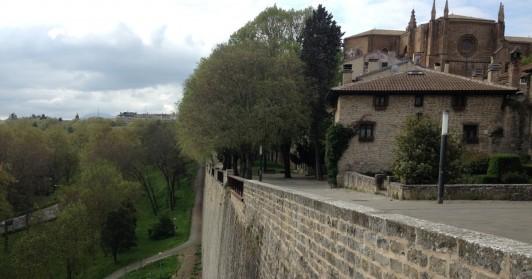 スペイン北部の城塞都市、パンプローナ