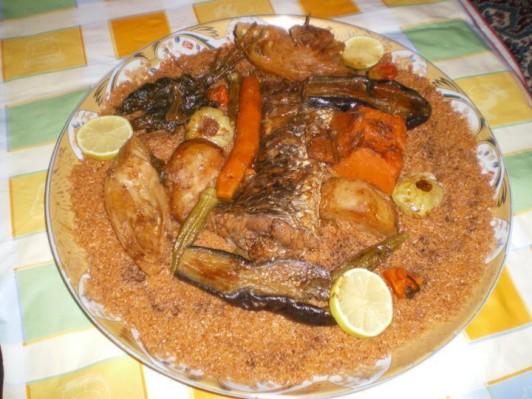 魚を使った地元のお料理