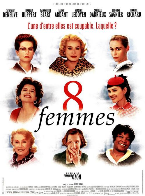 映画「8 femmes」ポスター