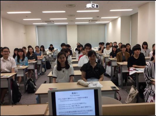 体験授業の参加者
