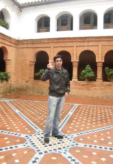 故郷ウエルバのラ・ラビダ修道院で