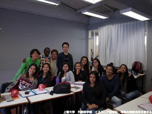 他大学の授業で日本についてプレゼン