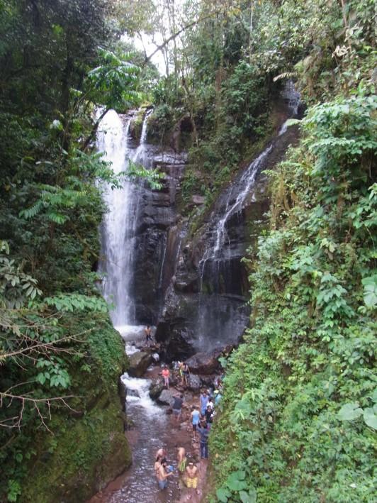 selvaの滝catarata