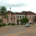 ギニア・ビサウの首都ビサウにある大統領府。