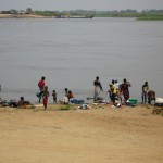 モザンビーク中部を流れるザンベジ川。