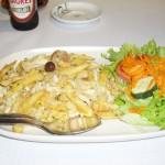 ポルトガル料理の定番、ブラス風タラ料理