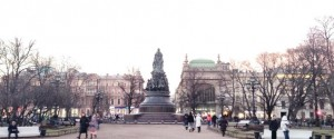 エカテリーナ2世の銅像