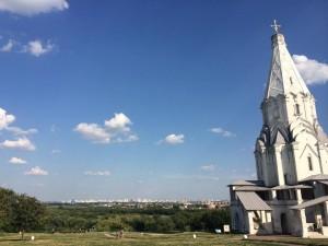 コローメンスコエにある主の昇天教会(世界遺産)