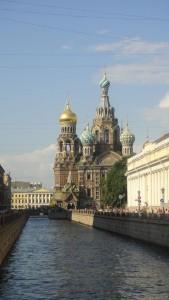 ペテルブルク・血の上の救世主教会