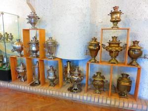 トゥーラはサモワール(紅茶用の茶器)の産地としても有名です。
