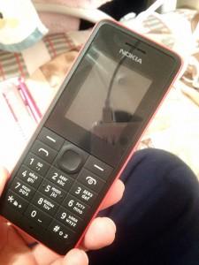 携帯電話も契約しました