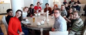 ペトロザヴォーツクで知り合いになった留学生たち