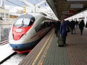 ロシアの高速鉄道「サプサン」