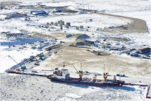 "Yamal LNG 現場 ""Courtesy of Yamal LNG"""