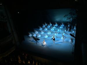 白鳥の湖をミハイロフスキー劇場で見た時のものです。
