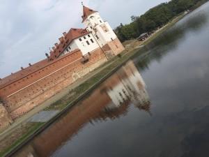 ベラルーシの世界遺産ミール城