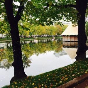 その名の通り「きれいな池」
