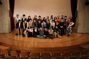 公演終了後の記念撮影