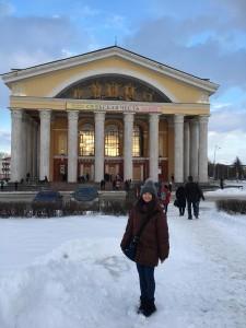 3月最後の週、バレエ「白鳥の湖」を観に行きました。