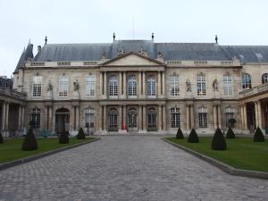 史料の宝庫、フランス国立文書館