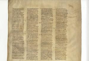 Codex Sinaiticus,Isaiah 42.25-44.2.