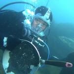 東日本大震災の被災地の海を取材