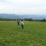ゼミではとても充実した時間を過ごすことができました。左が私です (2005年:清里で撮影)