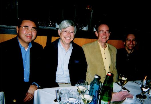 2004年米国合弁会社幹部と