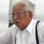 日下幸雄(1950年史学科入学・前史学科ソフィア会会長)